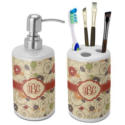 Design Your Own Personalized Bathroom Accessories Set (Ceramic)