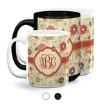 Fall Flowers Coffee Mugs (Personalized)