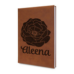 Fall Flowers Leatherette Journal (Personalized)