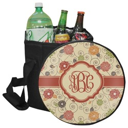 Fall Flowers Collapsible Cooler & Seat (Personalized)