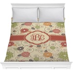 Fall Flowers Comforter (Personalized)