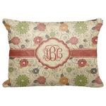 Fall Flowers Decorative Baby Pillowcase - 16