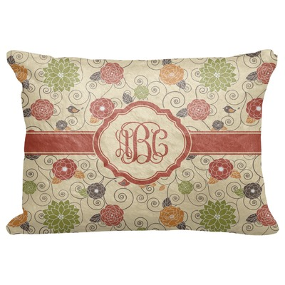 """Fall Flowers Decorative Baby Pillowcase - 16""""x12"""" (Personalized)"""