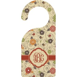Fall Flowers Door Hanger (Personalized)