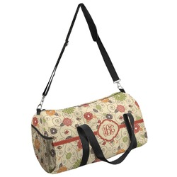 Fall Flowers Duffel Bag (Personalized)