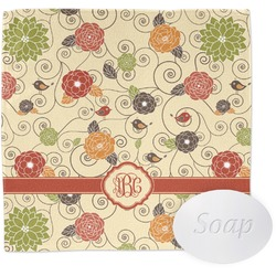 Fall Flowers Wash Cloth (Personalized)
