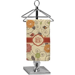Fall Flowers Finger Tip Towel - Full Print (Personalized)
