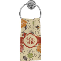 Fall Flowers Hand Towel - Full Print (Personalized)