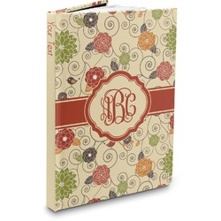 Fall Flowers Hardbound Journal (Personalized)