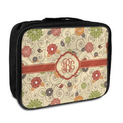 Fall Flowers Insulated Lunch Bag (Personalized)