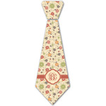 Fall Flowers Iron On Tie - 4 Sizes (Personalized)