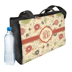 Fall Flowers Ladies Workout Bag (Personalized)