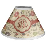 Fall Flowers Coolie Lamp Shade (Personalized)