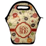 Fall Flowers Lunch Bag w/ Monogram