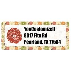 Fall Flowers Return Address Labels (Personalized)