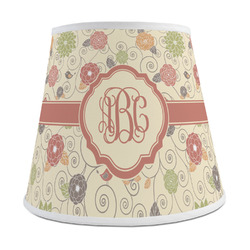 Fall Flowers Empire Lamp Shade (Personalized)