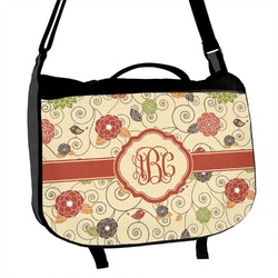 Fall Flowers Messenger Bag (Personalized)