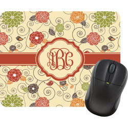 Fall Flowers Mouse Pad (Personalized)
