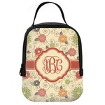Fall Flowers Neoprene Lunch Tote (Personalized)