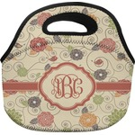 Fall Flowers Lunch Bag (Personalized)