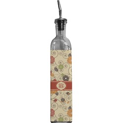 Fall Flowers Oil Dispenser Bottle (Personalized)