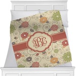 Fall Flowers Minky Blanket (Personalized)
