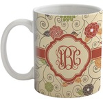 Fall Flowers Coffee Mug (Personalized)