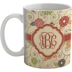 Fall Flowers Coffee Mug (Personalized)