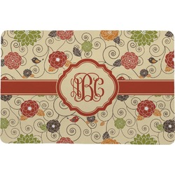 Fall Flowers Comfort Mat (Personalized)
