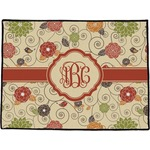 Fall Flowers Door Mat (Personalized)