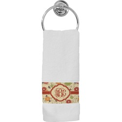 Fall Flowers Hand Towel (Personalized)