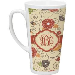 Fall Flowers Latte Mug (Personalized)