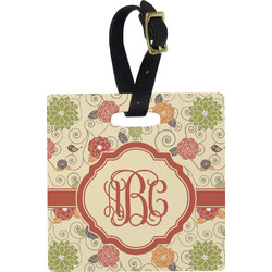 Fall Flowers Luggage Tags (Personalized)