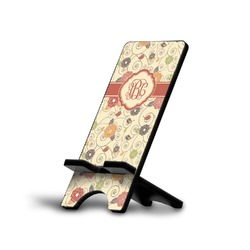 Fall Flowers Phone Stand (Personalized)