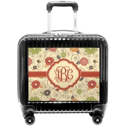 Fall Flowers Pilot / Flight Suitcase (Personalized)