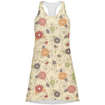 Fall Flowers Racerback Dress (Personalized)