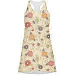 Fall Flowers Racerback Dress (Personalized)