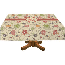 "Fall Flowers Tablecloth - 58""x102"" (Personalized)"