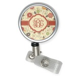 Fall Flowers Retractable Badge Reel (Personalized)