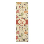 Fall Flowers Runner Rug - 3.66'x8' (Personalized)