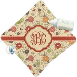 Fall Flowers Security Blanket (Personalized)