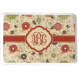 Fall Flowers Serving Tray (Personalized)