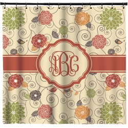 Fall Flowers Shower Curtain (Personalized)