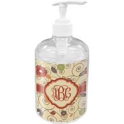 Fall Flowers Soap / Lotion Dispenser (Personalized)