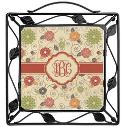 Fall Flowers Trivet (Personalized)