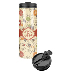 Fall Flowers Stainless Steel Tumbler (Personalized)