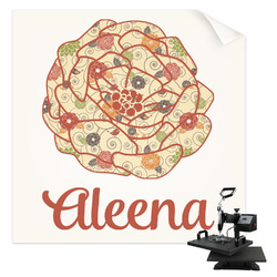 Fall Flowers Sublimation Transfer (Personalized)
