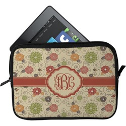 Fall Flowers Tablet Case / Sleeve (Personalized)