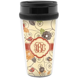 Fall Flowers Travel Mug (Personalized)