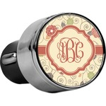 Fall Flowers USB Car Charger (Personalized)